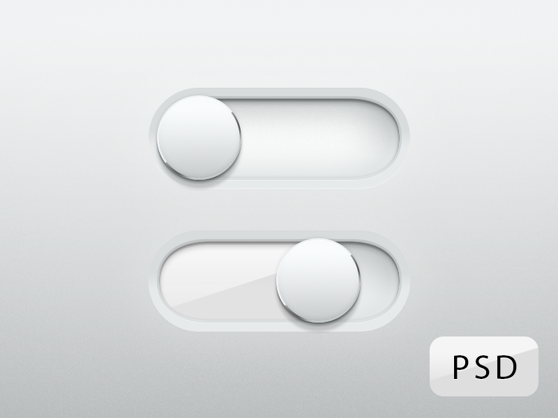 Super Shiny Switches! ui switches free free psd psd glass apple if apple made switches