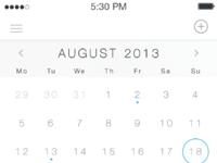 Ios7 calendar retina