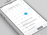 iOS7 Calendar App
