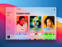 Apple Music —Light Theme big sur mac apple