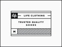 Life Clothing Tag