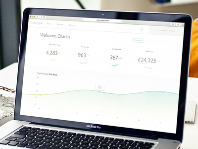 Dashboard dashboard analytics stats ui fynder ux graph reporting fitness revenue admin