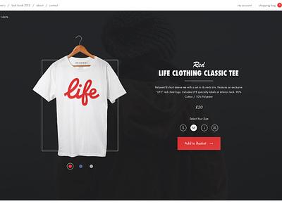 Colour Select life clothing selector transition shop clothing border ui