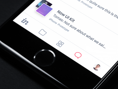 New Tab Bar Icons conversations ios ui ux prototype iphone 7 app icons tab bar