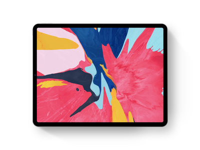 InVision Studio — iPad Pro Device invision studio ios minimal ipad pro ui