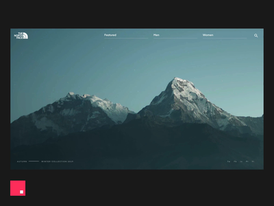 InVision Studio — The North Face animation ux ui