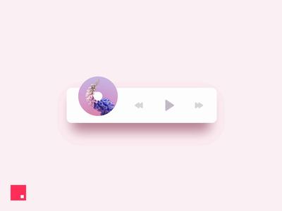 InVision Studio —Music Player ios minimal animation ux ui