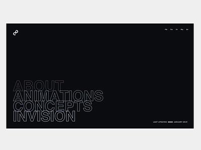 CP. Rainbow Mode studio minimal animation ux ui