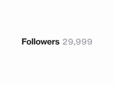 30 Thousand Friends