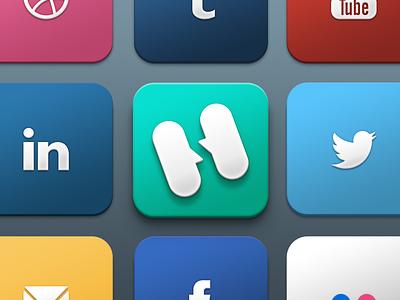 Free Social Icons social media social freebie free free social icons icons social icons free icons