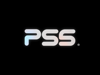 PS5 glow retro logo animation playstation
