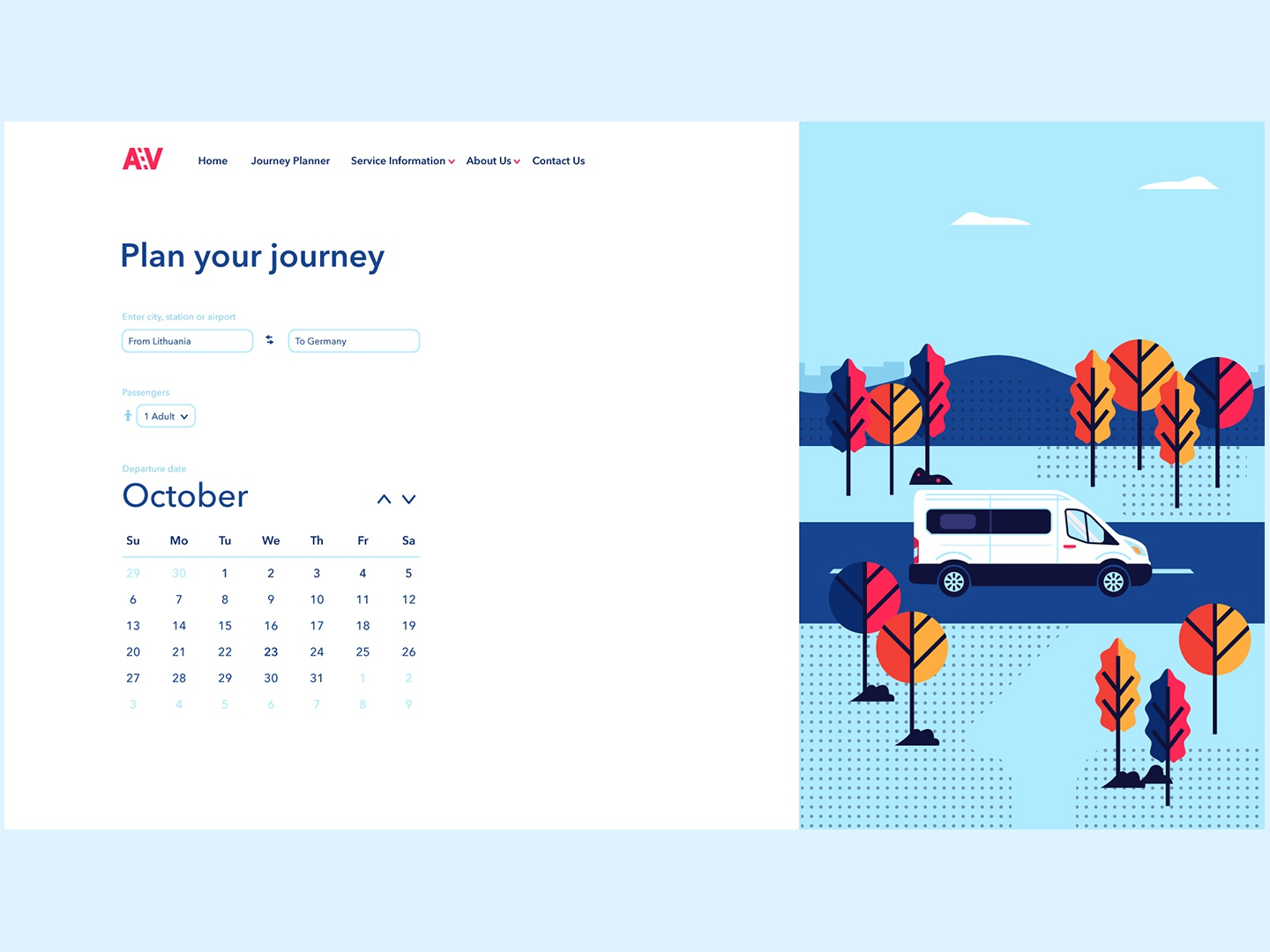Andrius veza calendar design by Nikodemas on Dribbble