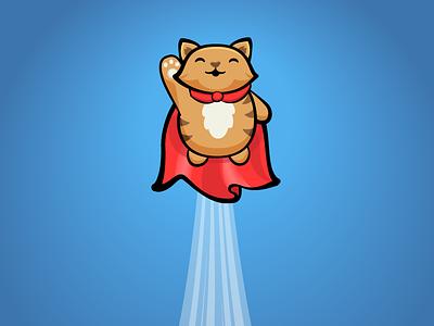 Supercat cat superhero