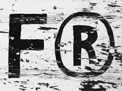 FurtheR blackandwhite texture typography