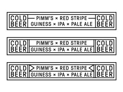 Lightbox Graphics for Popbrixton S11 blackandwhite typography