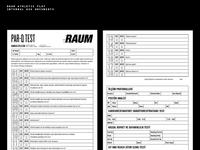 Raum's Internal Use Docs