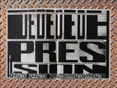 TYPE-ZINE magazine typography lay-out zine