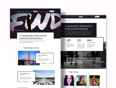 FWD Website Rebrand and Redesign