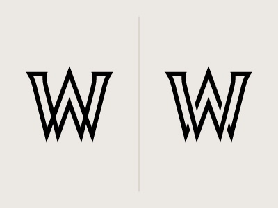WW Monogram logo monogram