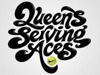 Queens Serving Aces