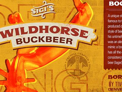 Beer Label label texture spur brewing beer beer label