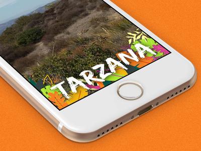Tarzana Snapchat Geofilter