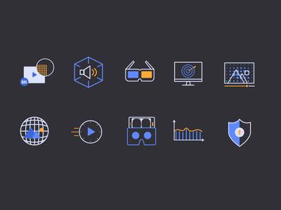 VR Icon Set