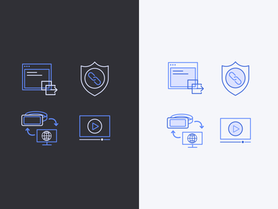 Web VR Icons