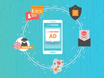 Brand Safety graphic design fake ads safety brand safety visual design illustration