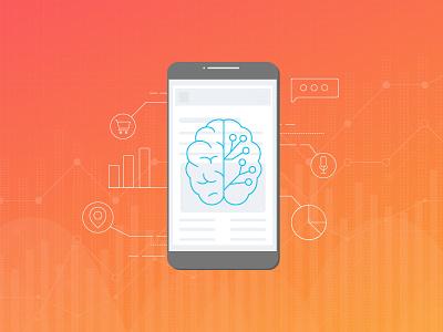 Smartphone Bi statistics artificial intelligence business intelligence smartphone visual design