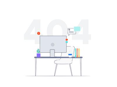 Designer Not Found designer desk designers desk visual design illustration 404 404 error page desktop missing designer page not found 404 error 404 page