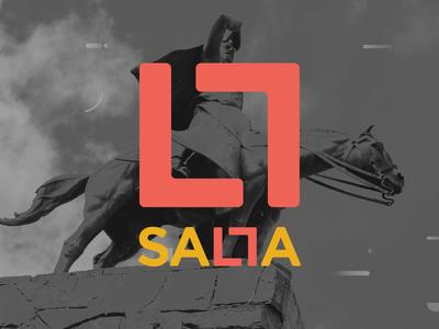 Salta City - ID digital system salta iconography icon community city branding