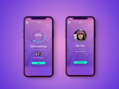 Quantum Computing Matchmaker Simulation quantum computing dating dating app the system video full screen movie tech future tech uiux landing page black mirror