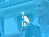 Heron house logo