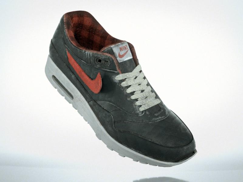 Nike Airmax Texturing Practice