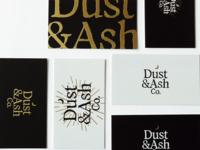 Dust & Ash Business Cards