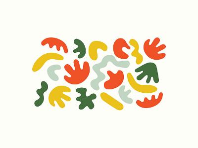 Matisse Shapes texture pattern blobs shape matisse