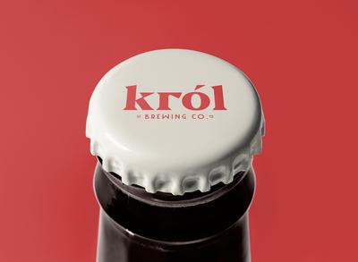 król beer branding