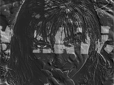 Dramatic Grunge Girl girl abstract photography artistic artistic design graphic design