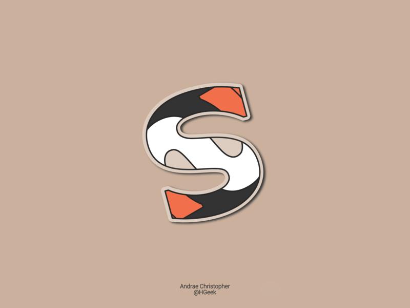 S Letter Vector Design artistic illustration typography monogram logo lettermark graphic design flat design branding logo vector design logo design