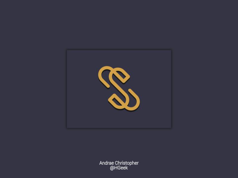 Is It An Abstract S abstract design abstract logo abstractmark graphic design flat design branding logo logo design design vector