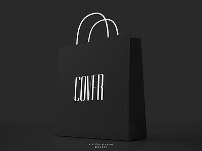 COVER wordmark wordmark design brand design flat design branding logo logo design vector design