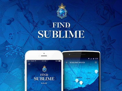 Find Sublime - Bombay Sapphire App