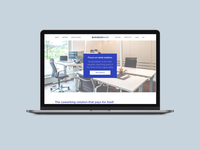 Coworking office Home Page