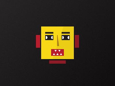 Robot Lilliput playful avatar fun design bright clean robot illustration character