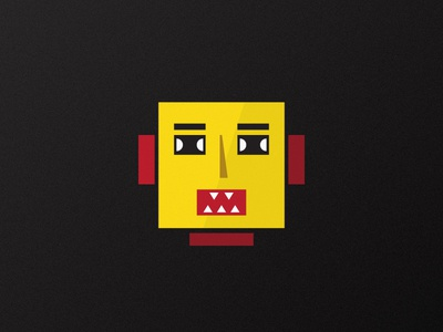Robot Lilliput playful avatar fun design bright clean robot illustration character