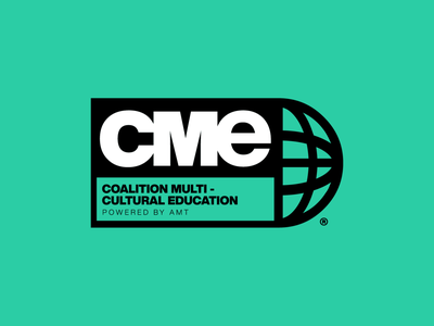 The COALITION for MULTI-CULTURAL EDUCATION logo vector design