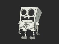 No Service Sponge Skeleton