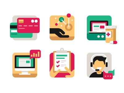 Pharma Services Icons