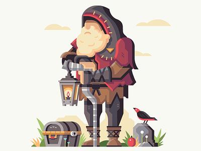 Old Man apple lantern bird treasure chest hyrule king old man retromill breath of the wild zelda